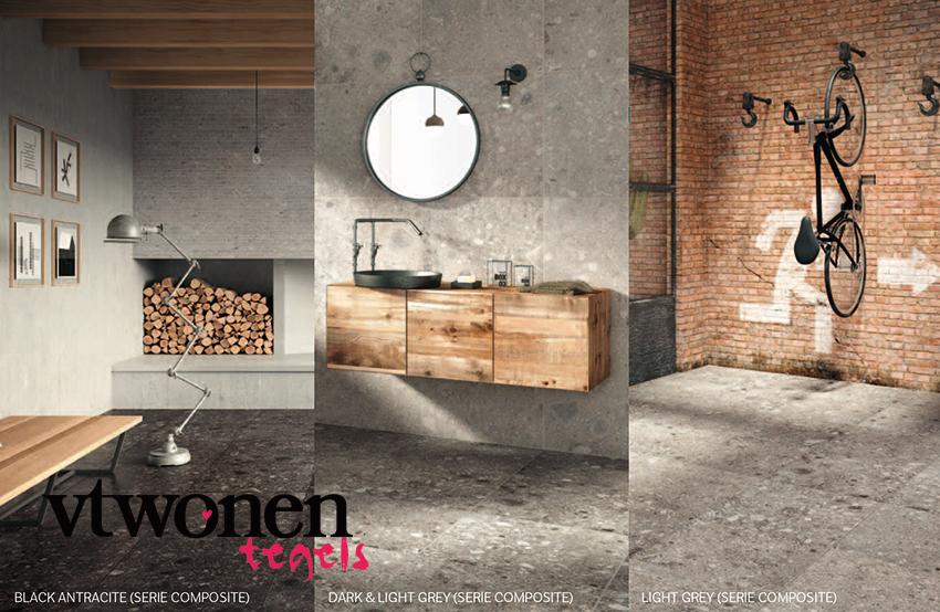 Vtwonen tegels - Moderne betegelde vloer ...