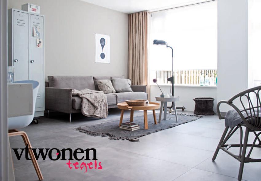 Betonlook Keuken Muur : Boven: Op de vloer: LOFT GREY 59,2 x 59,2 cm (serie LOFT)